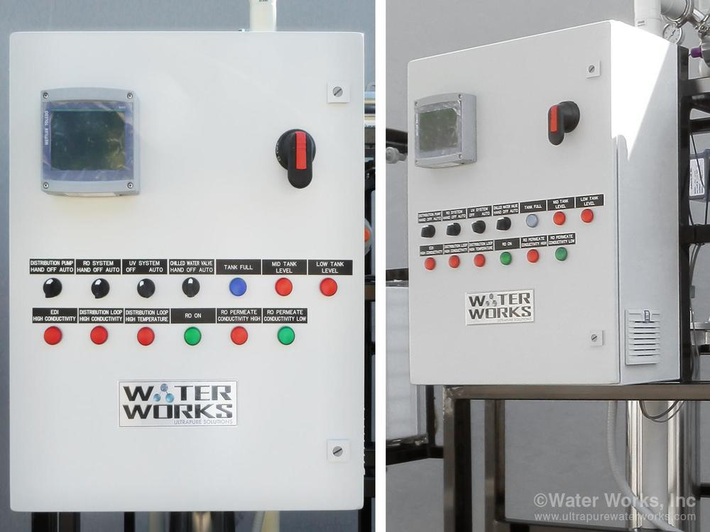 The PLC based System Control Panel