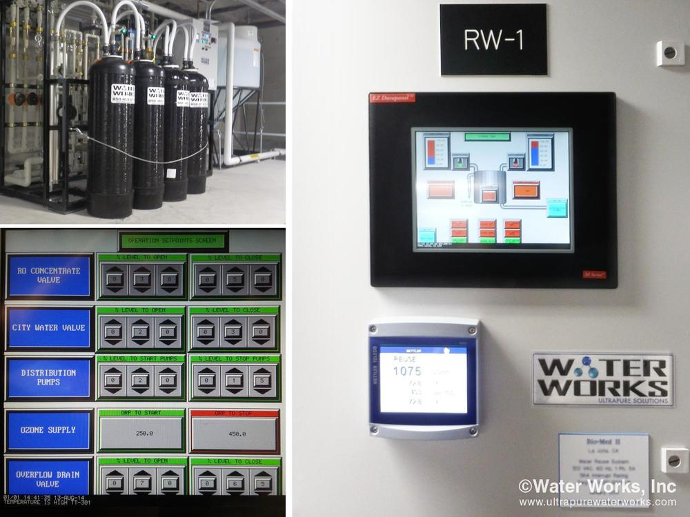 The Reused Water Control System