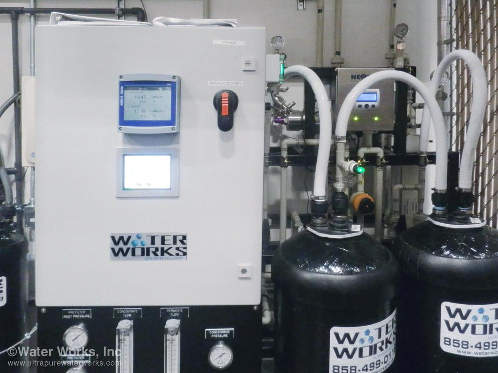 HMI and PLC Based Control System by Water Works