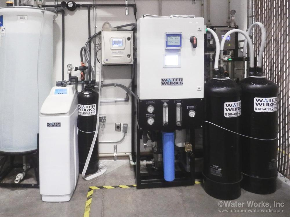 Low Footprint Validated Water System by Water Works
