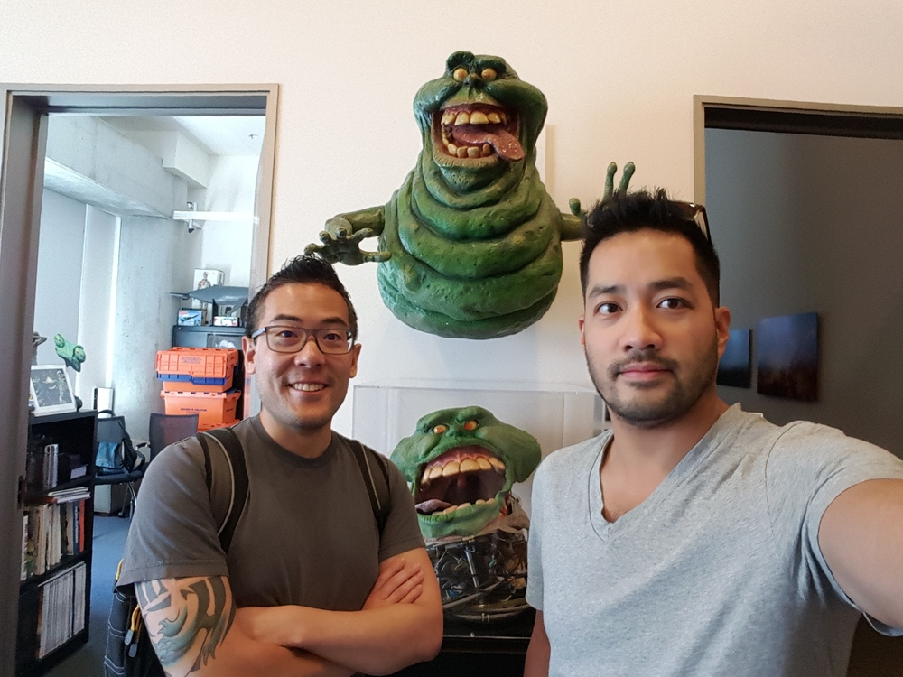 7/22  Vicarious visits Industrial Light & Magic.