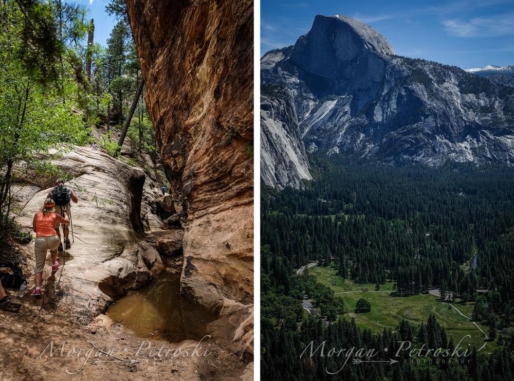 Zion National Park Yosemite National Park