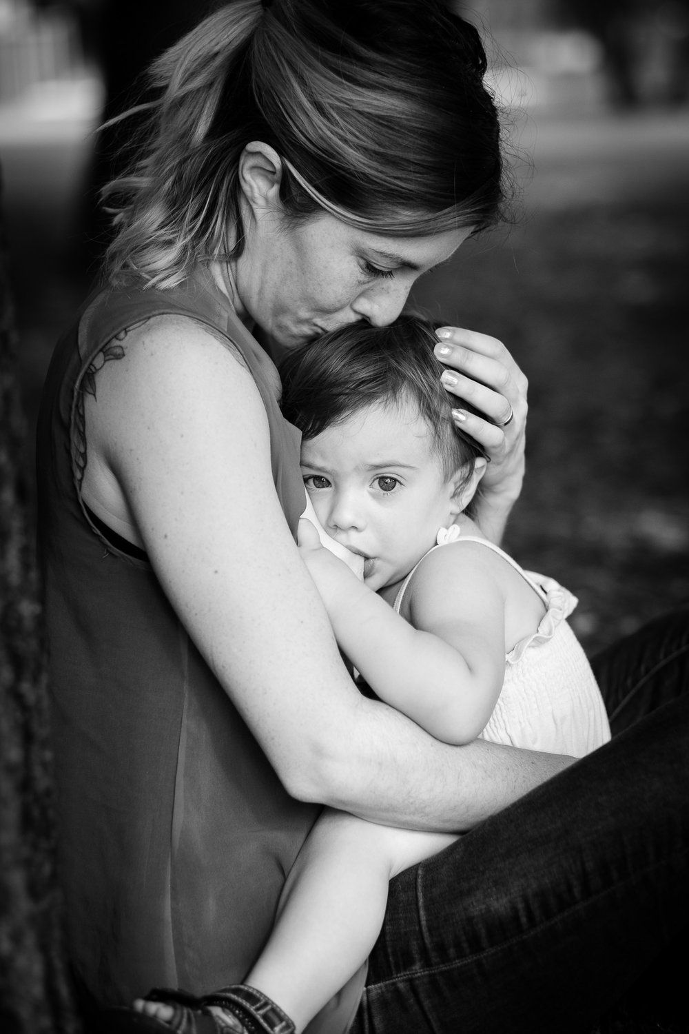 """For me breastfeeding is more than just feeding my daughters. it's about nurturing, comforting, being there for them when they need me the most. I'll always look back on these days with such a accomplished feeling."" ~ Claudia and her daughter Billie"