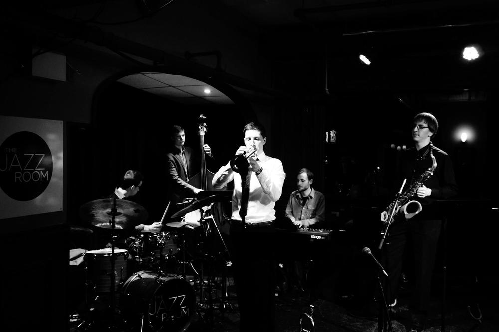 Andrew McAnsh Quintet  photo: Gee Wong