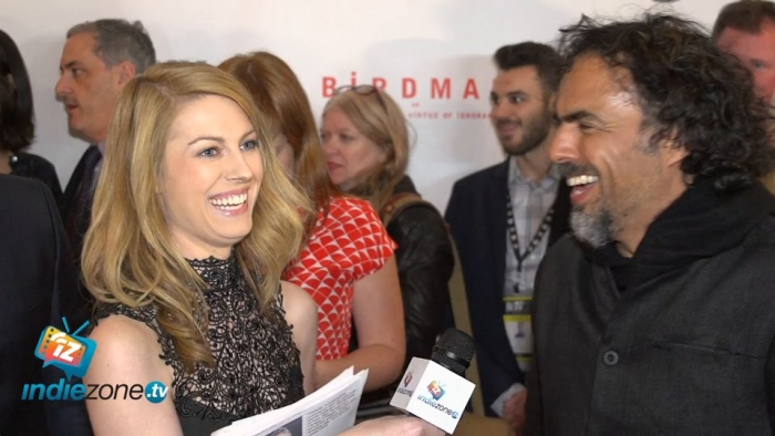 "Congratulations to Alejandro González Iñárrituto for winning  Best Director at the 87th Academy Awards and to the entire cast and crew of ""Birdman or (The Unexpected Virtue of Ignorance)"" for winning Best Picture. Sarah had a blast interviewing you!"