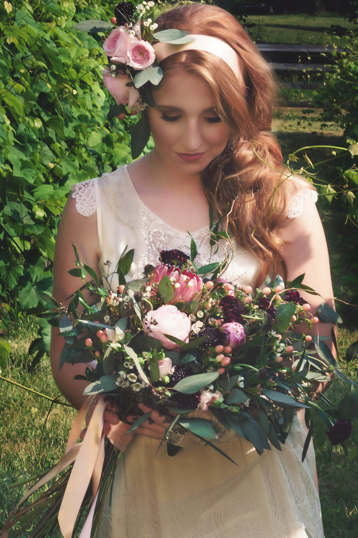 vintage inspire bouquet