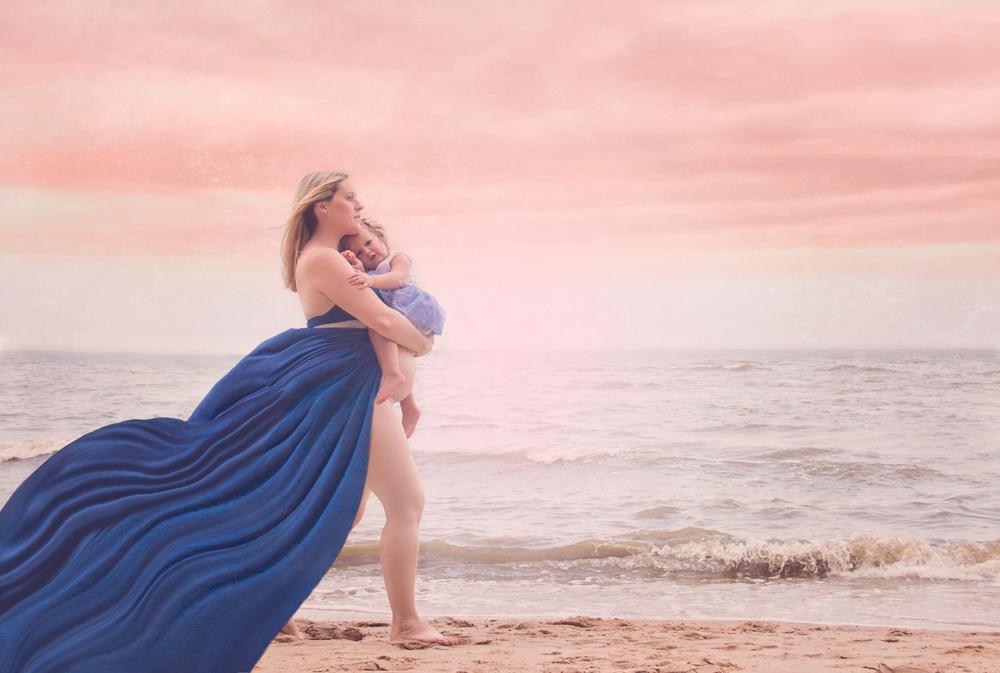 fine art maternity portraits