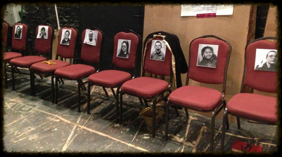 able backstage chairs