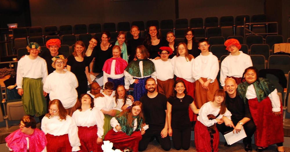 the full cast and crew of  The Taming of the Shrew  (April 2013)