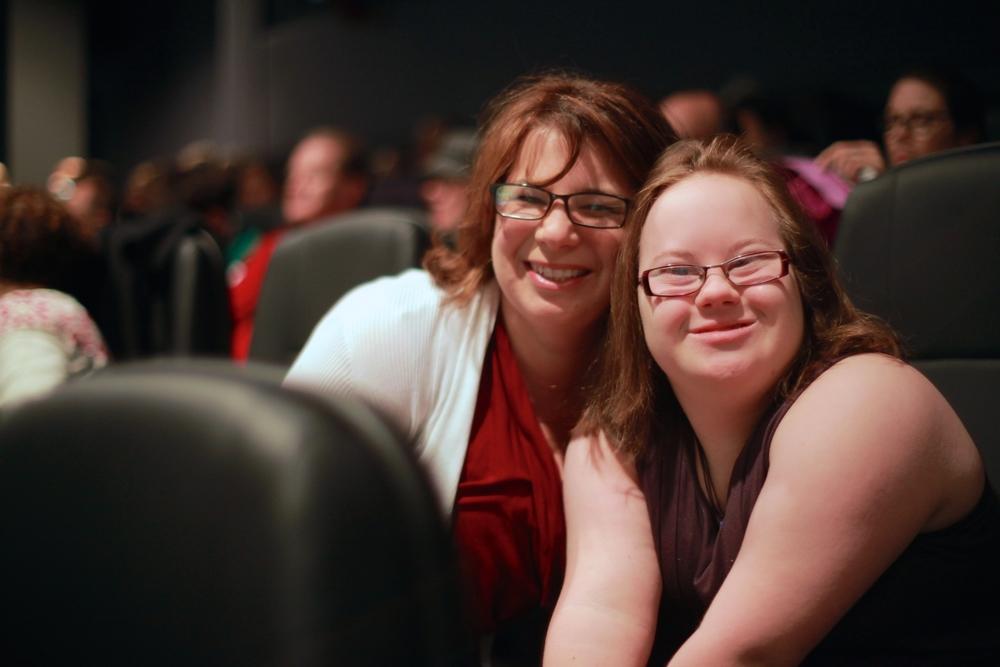 Emily & her Mom