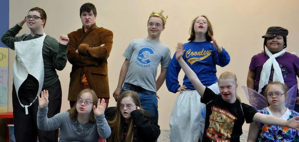 Playing with different characters during rehearsals from  A Midsummer Night's Dream  (2012)