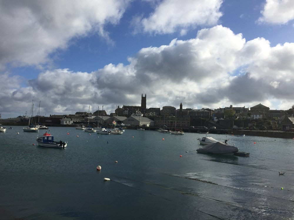 I made a quick stop in Penzance over spring break. It's not that scary, see?