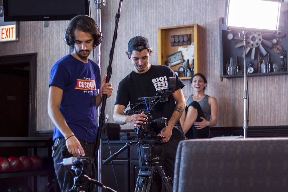 Alex Palma - Sound recording made a huge difference for this film! Alex helped us with mics and onset sound so that we could fix a lot of the problems we had with Tempest Jewel and was fabulous with our actors.
