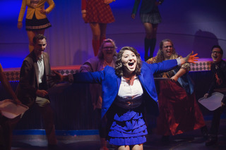 Here's Jenna belting it out in a show :-)