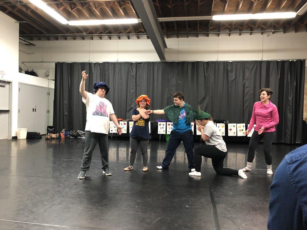 The Friday ensemble shows the love quadrangle