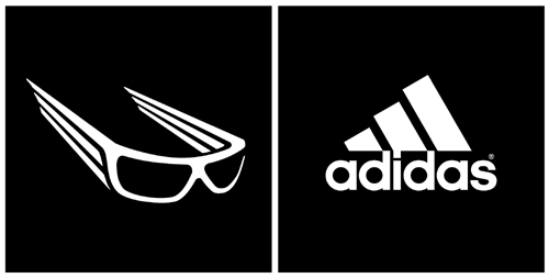 Looking fly and going fast in adidas eyewear.
