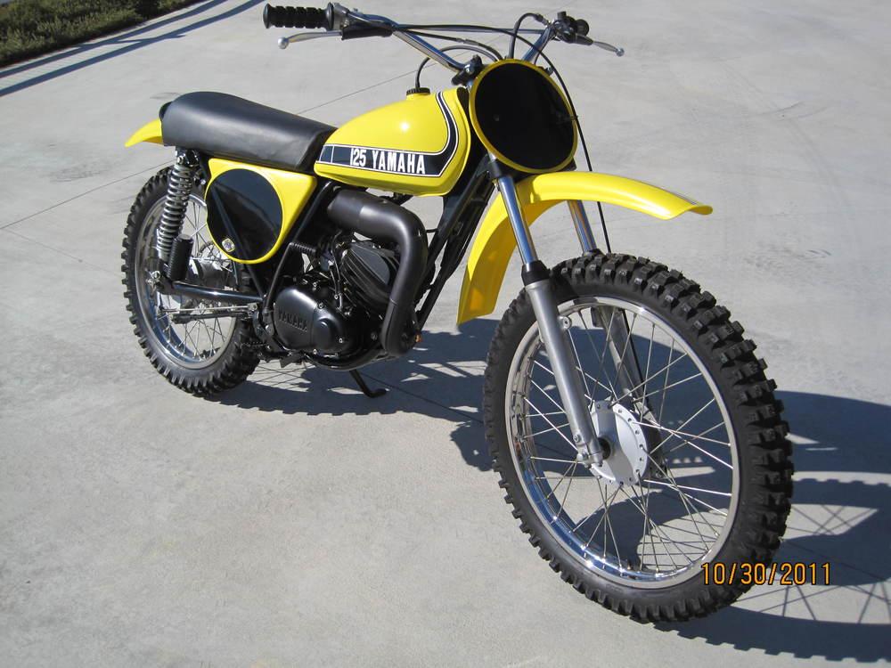 Yamaha 74' YZ-125