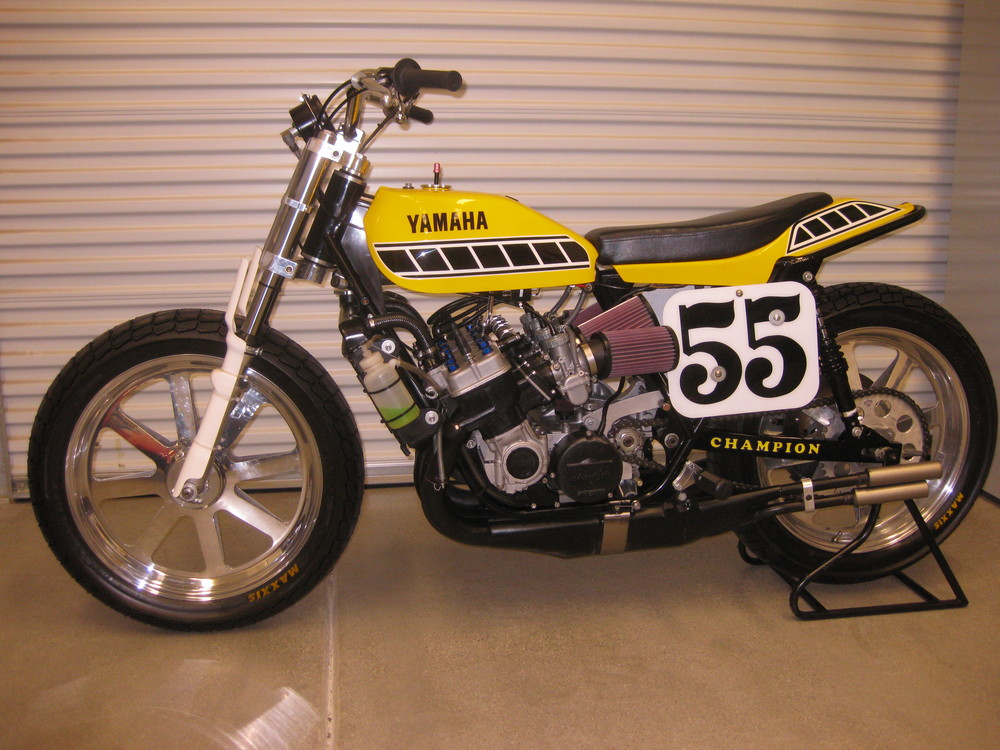 Yamaha TZ-750 Dirt Tracker