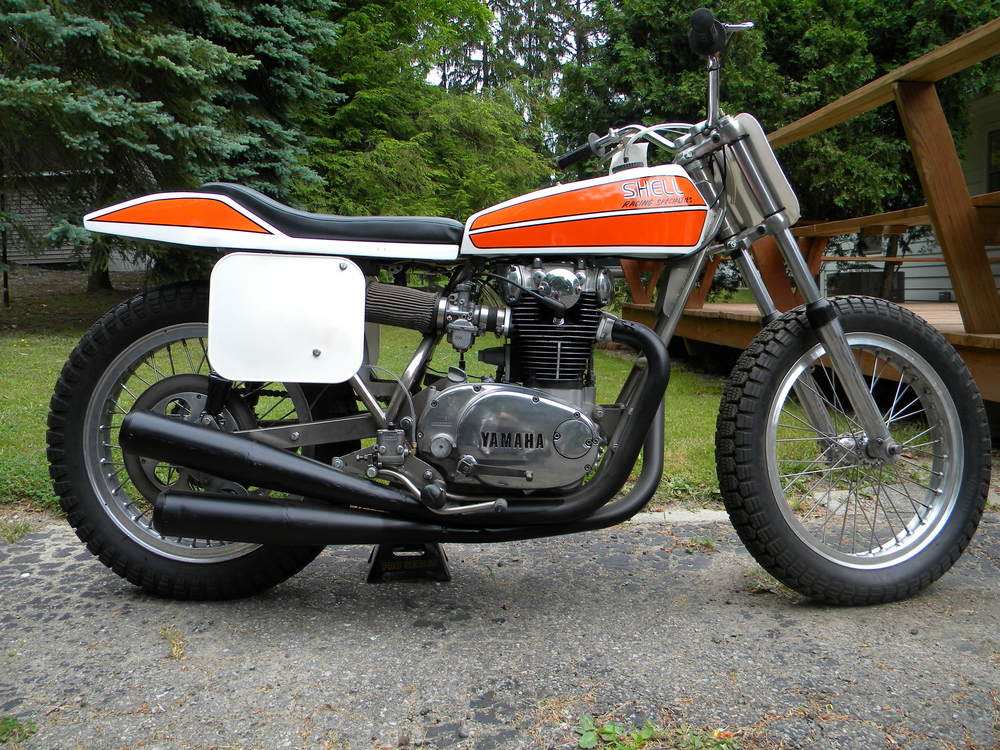 Original Shell XS-750 Hank Scott Race Bike