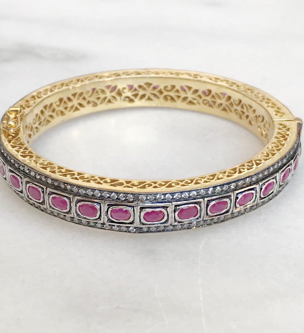 rajasthan india thread thin art bracelets bangles silk detail product