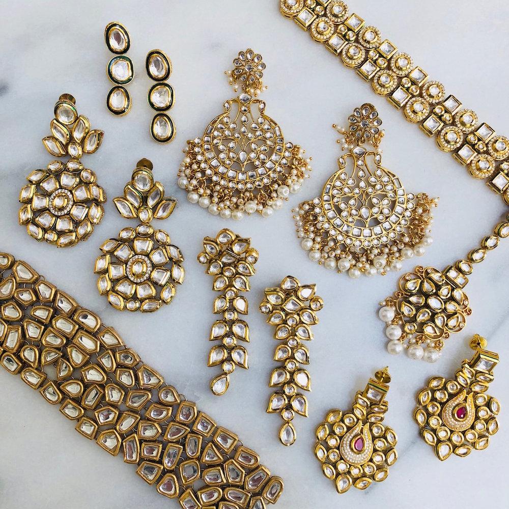 product_gold_kundan_indian_pakistani_jewelry_bridal_tikka_pasa_jhoomar_kamal_beverly_hills_los_angeles_california