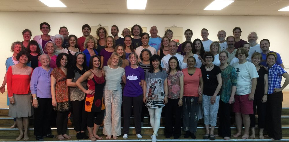 Sheng Zhen Teacher Training, Wimberley TX, May 2015