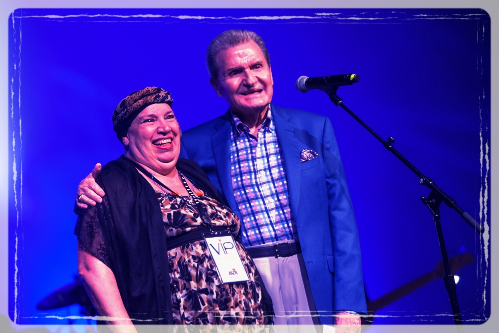 Linda Blocker with Charles Duke: Cancer Jam 2015