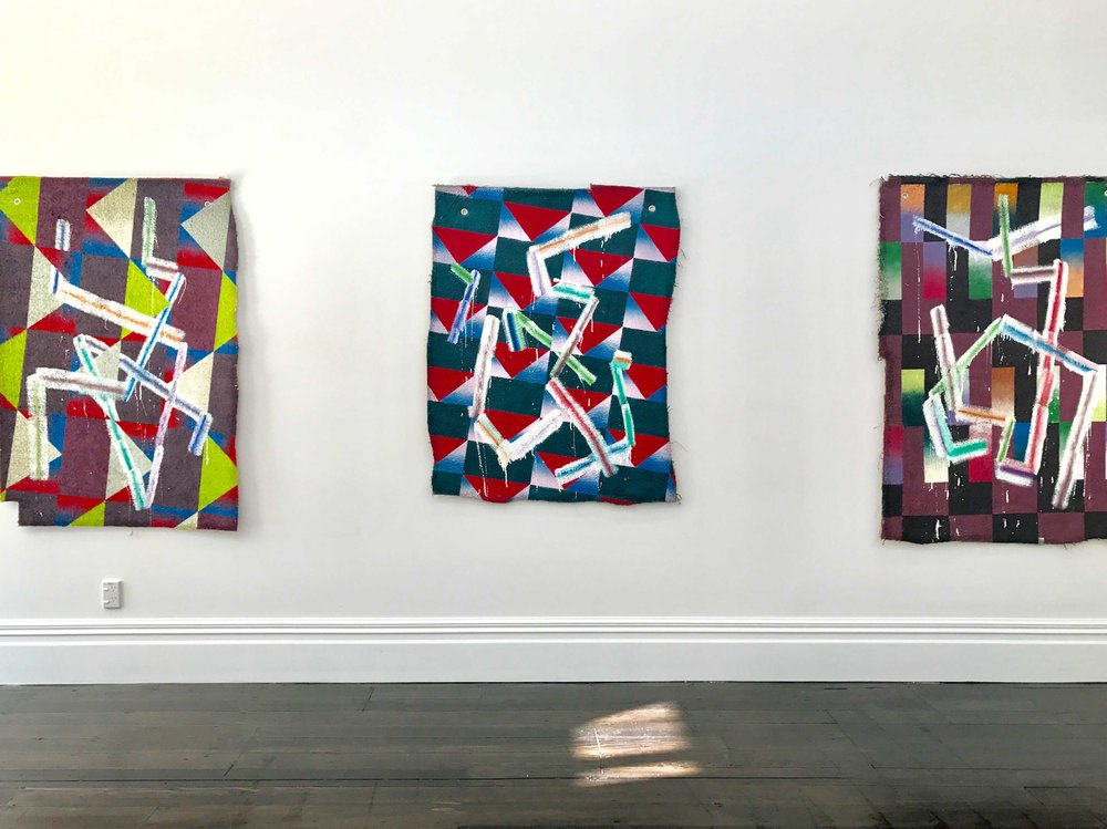 Installation of  Recent Paintings  at Melanie Roger Gallery