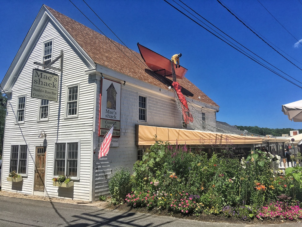 Mac's Shack serves the best lobster roll in Wellfleet.