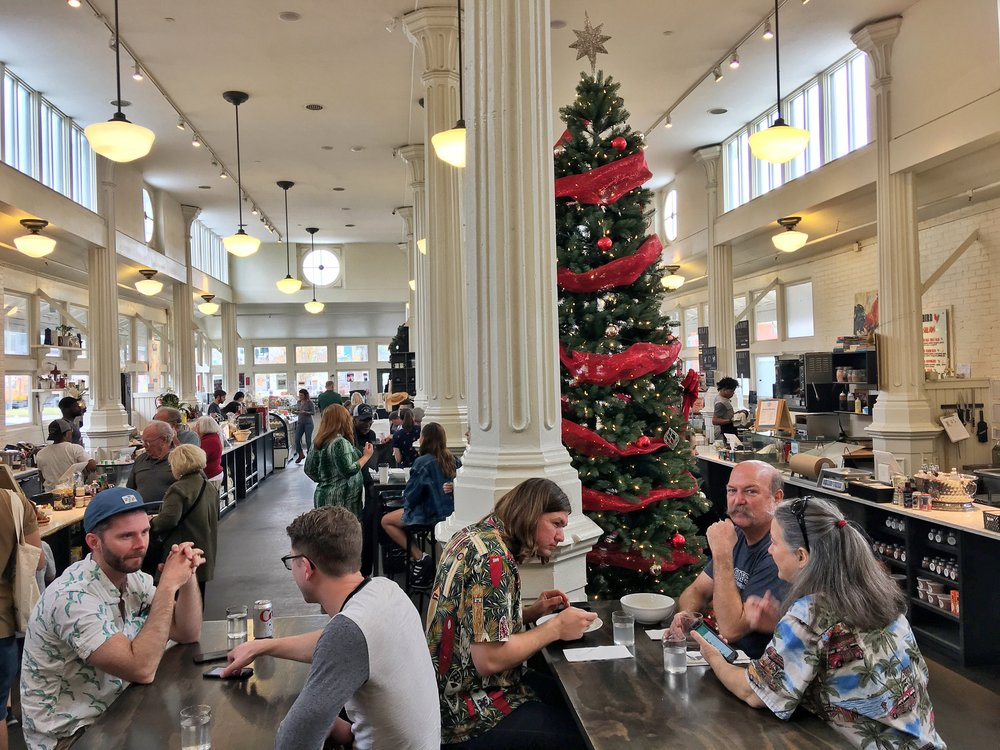 St. Roch food hall.