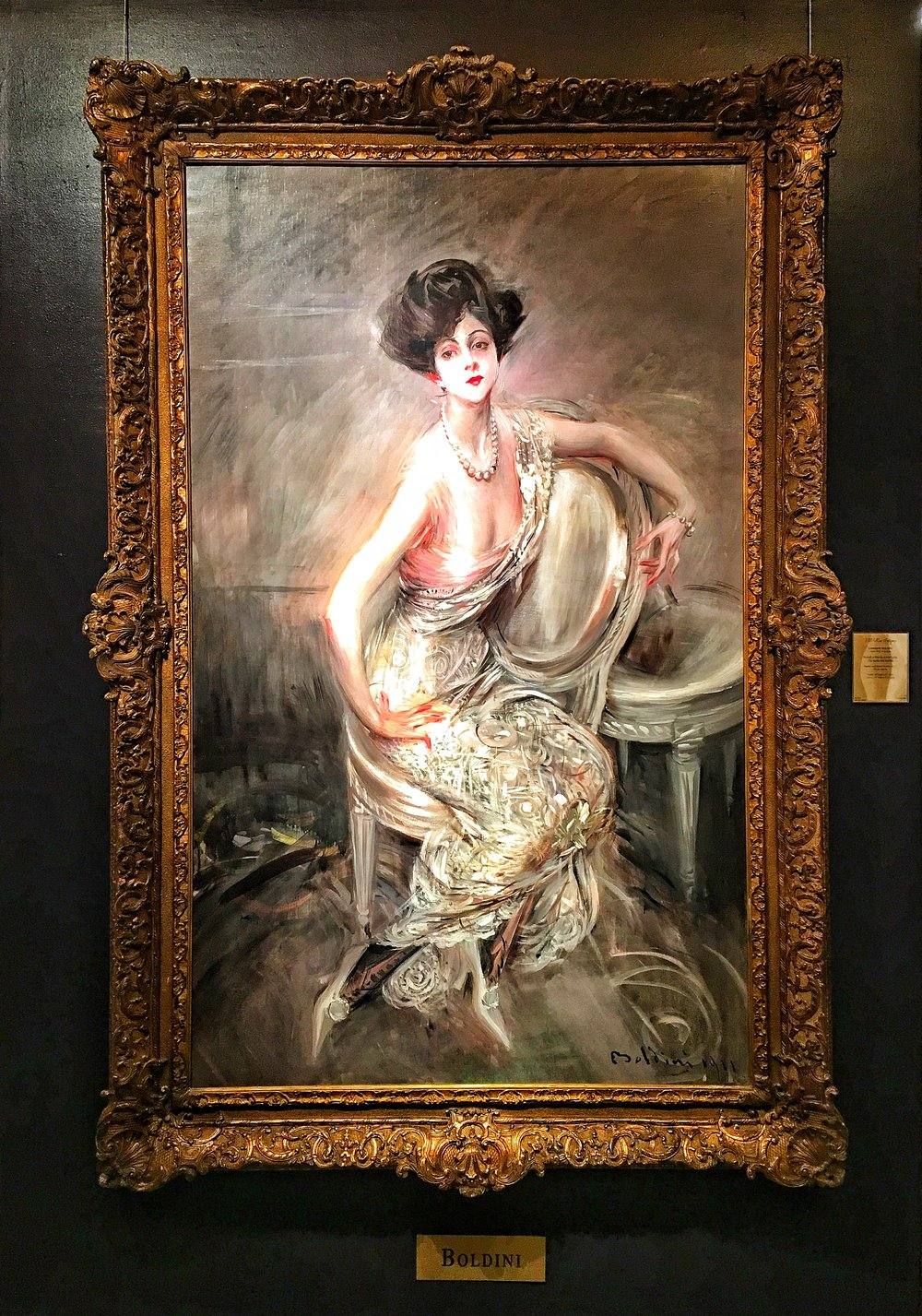 Portrait of a Lady. Rita de Acosta Lydig by Giovanni Boldini.