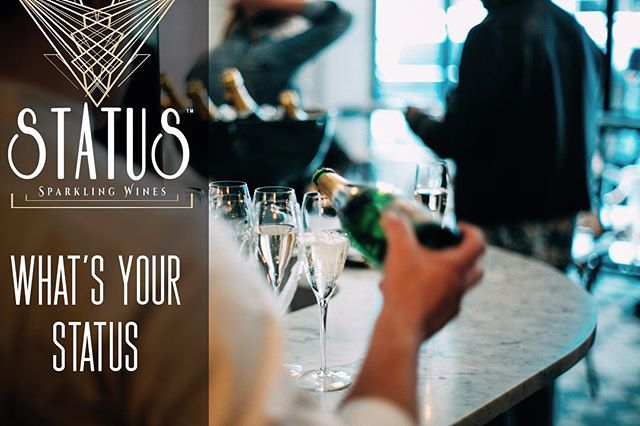 Now that the holidays are over, time to enjoy this Thirsty Thursday and order a round of STATUS for the team.  #WHATSYOURSTATUS 🍾🥂 • • • • • • #thirstythursday #2019 #sacramento #bubbly #winternights #pouritup #downtown #california #salud #status #whatsyourstatus #squad #goals #bubbly #lit #sip #drinkresponsibly #blessed #businessgrowth #2k19 #restaurant #mylacor #instamood