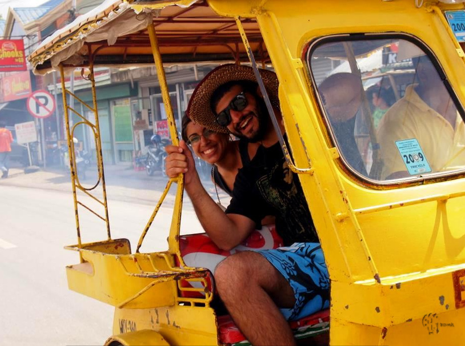 BAMtravels in tuk-tuks