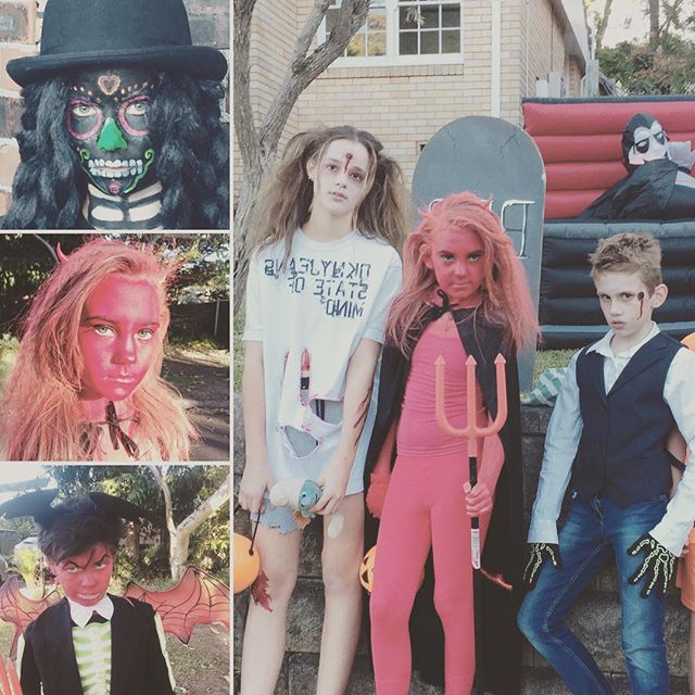 Are your kids ready for Halloween? #halloweenmakeup #halloweenfun