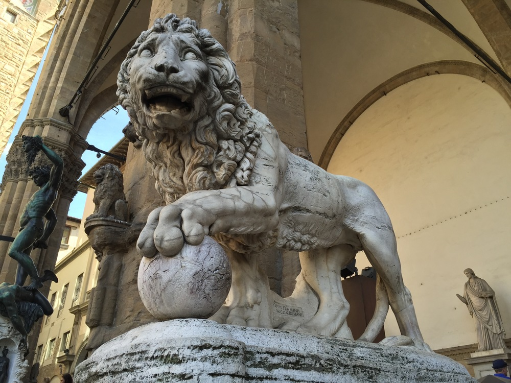 Florence, Italy - Lion.jpg