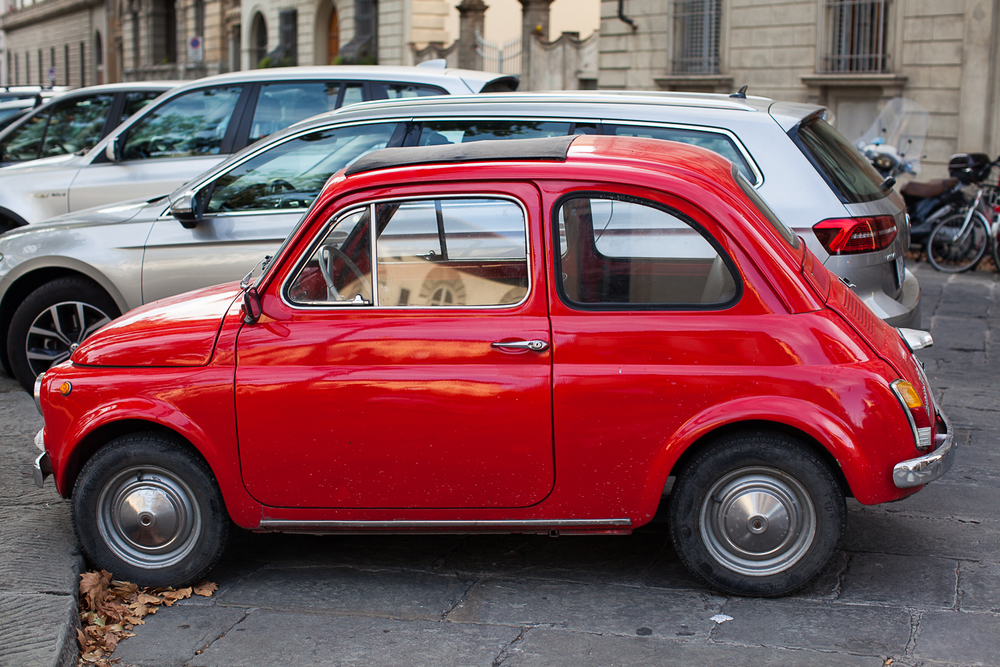 Florence, Italy - Red Car.jpg