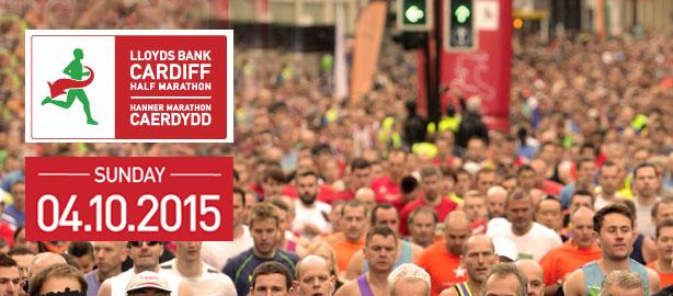 Cardiff Half Marathon Banner