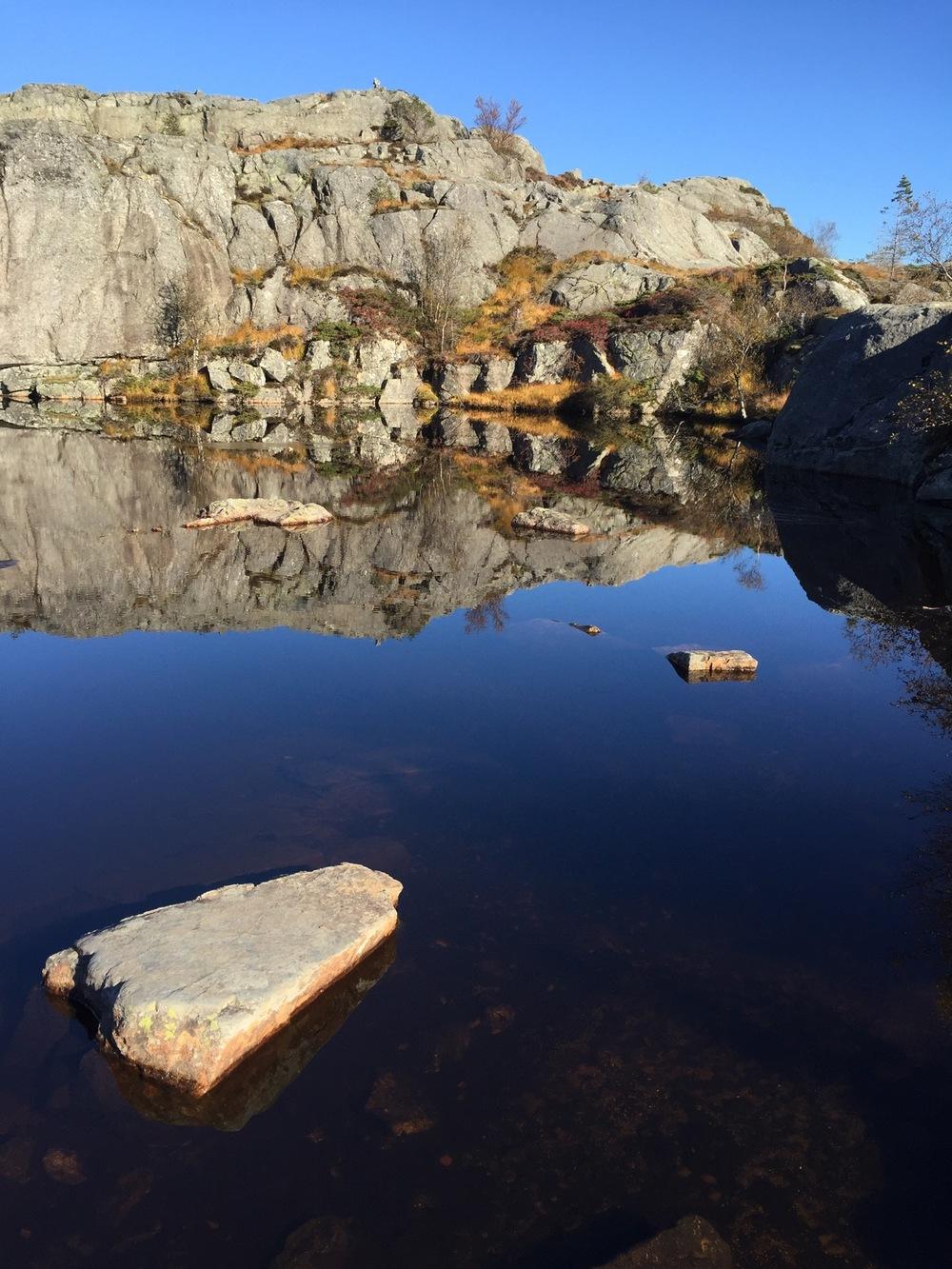 Preikestolen - Pond Reflection.jpg