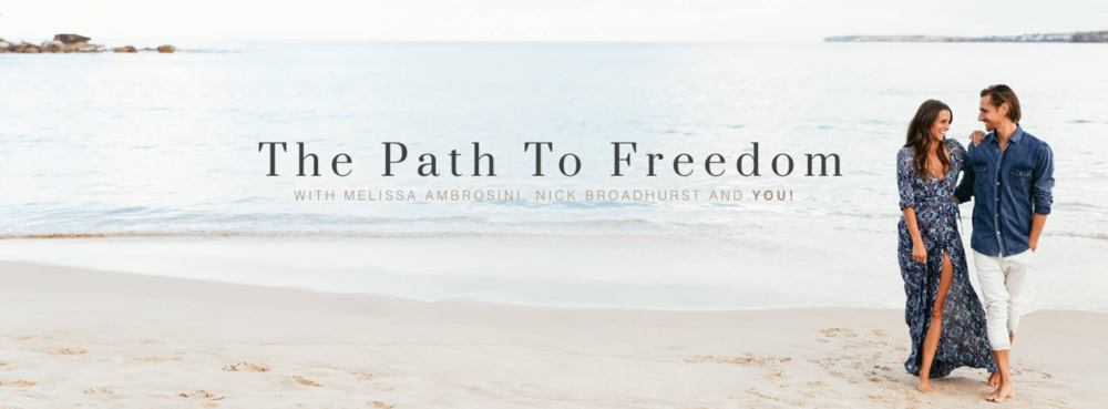 Path to freedom - An online program with everything you need to create your own thriving doTERRA business plus so much more.