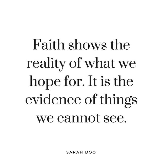 """I'm just beginning to understand how powerful faith really is. Faith is choosing to fully believe in what we cannot yet see—knowing it in a sense, already """"is"""". . . I am already enough. I am already abundant. I am already successful. I am already healed. . . Hear: You have to really believe it before you'll ever really see it... Not just hope, but belief. Hope is important but it lacks action... when you truly believe something you walk forward, you make moves, even if internally. . . Wanting is different from already knowing it will be. And that is the small switch that changes everything. ...Everything! 
