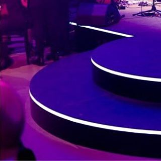 Snapshot taken during the 2016 @gooddesignaus award night, utilizing 1 inch lengths of Light Tape to dress up centre stage. Such an amazing product which can be installed in no time at all, flexible, thinner than a credit card, simply unroll and adhere to any surface for instant linear accent lighting. Providing completely glare free, crisp lines, perfect for any event.  #sydney #gooddesignaward #limelighting #lighttapeaustralia #gooddesign #lighttape #lightingdesign #featurelighting #designerlighting #moderndesign #modernlighting #eventlighting #lighting #eventdesign #eventplanner #event