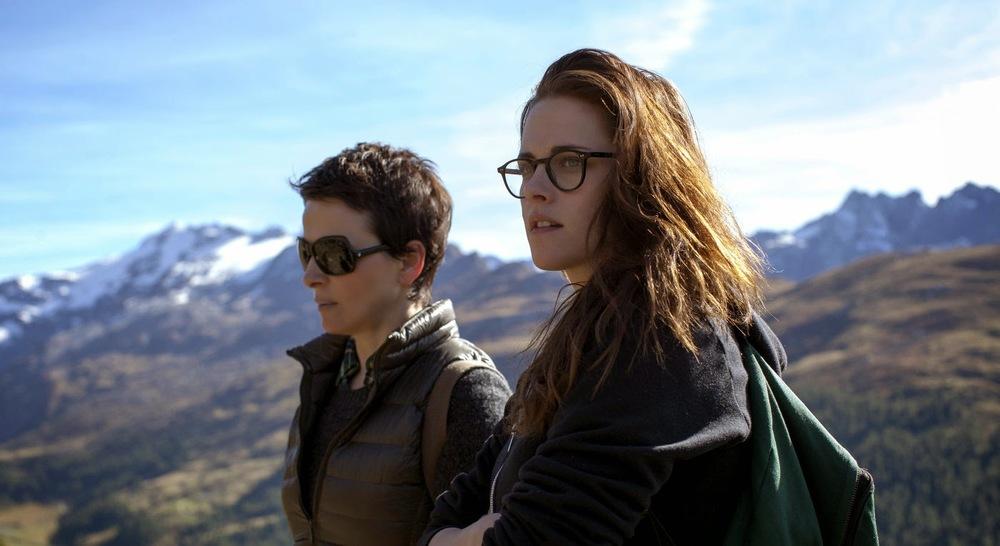 Juliette Binoche and Kristen Stewart seek out the Clouds of Sils Maria (a.k.a. Sils Maria).