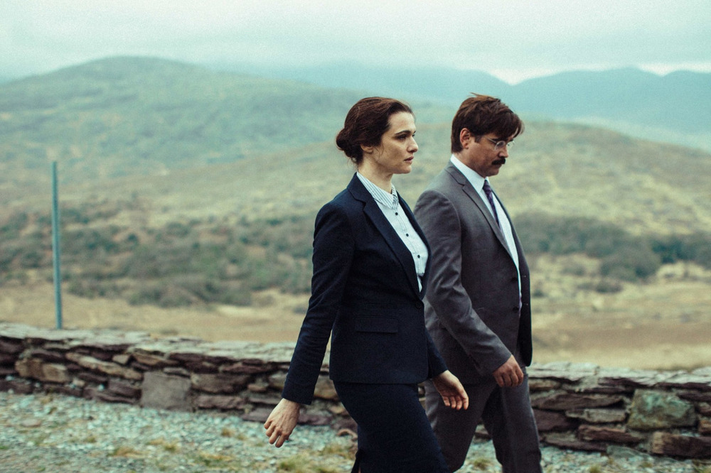 Rachel Weisz and Colin Farrell in  The Lobster.