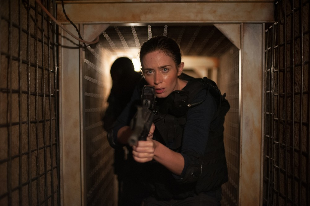 Emily Blunt tumbles further down the rabbit hole in Sicario.