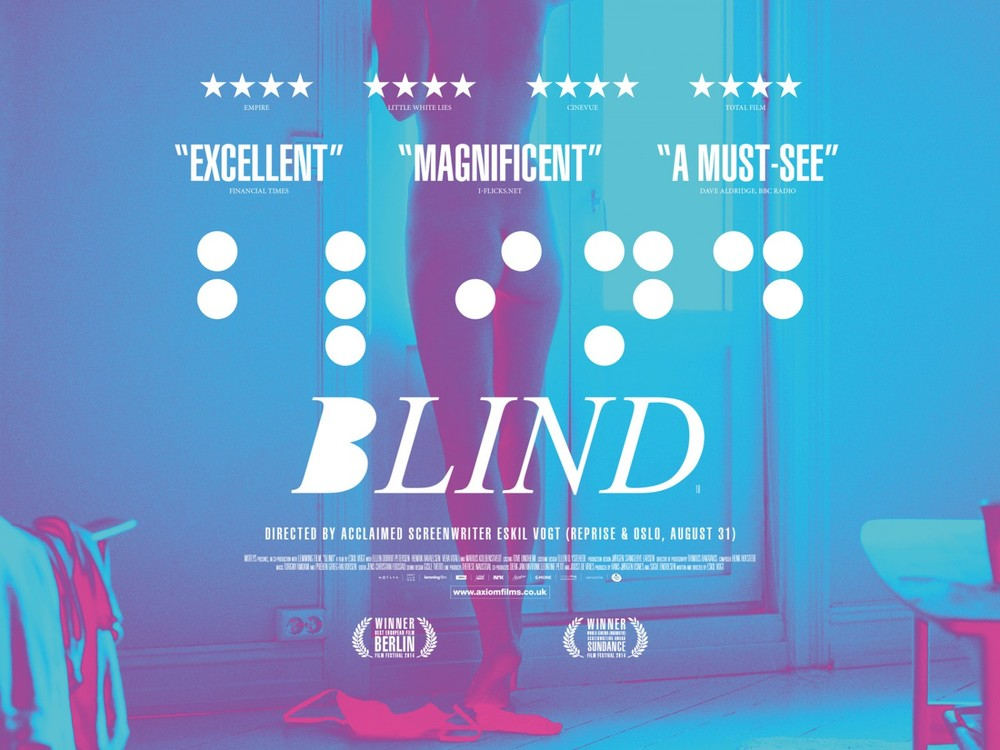Blind 2015 poster