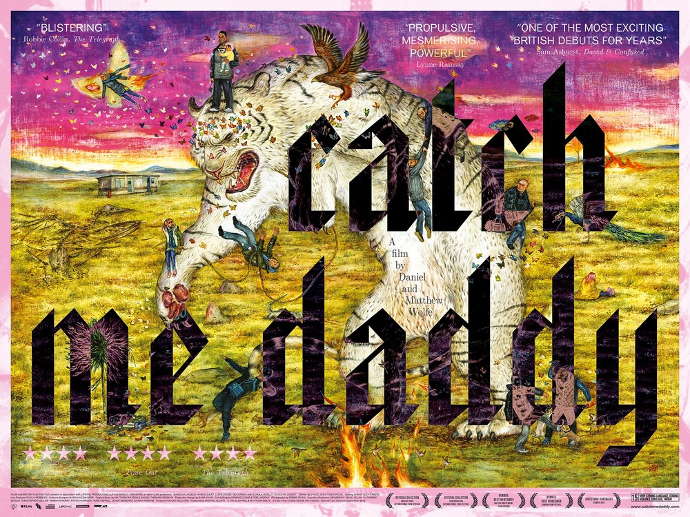 Catch Me Daddy 2014 poster