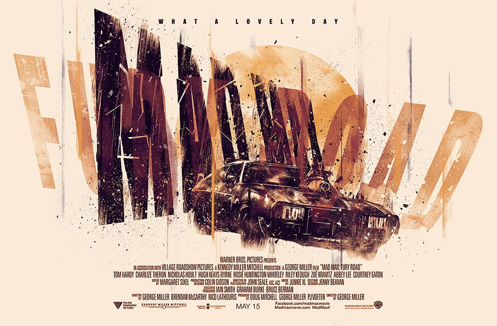 Mad Max Fury Road 2015 Poster Posse 2