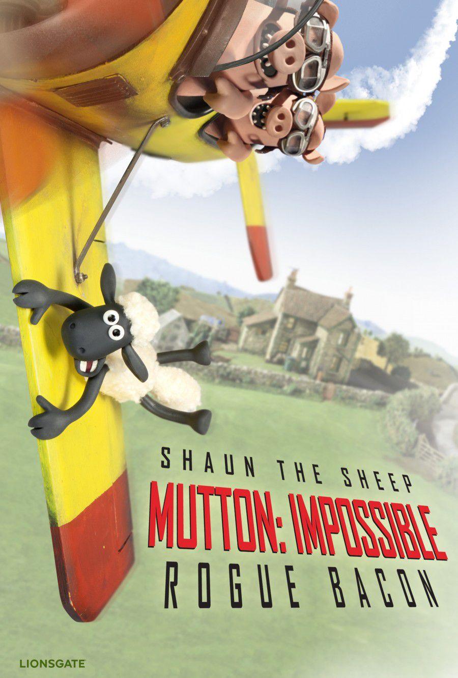 Shaun the Sheep parody poster 2