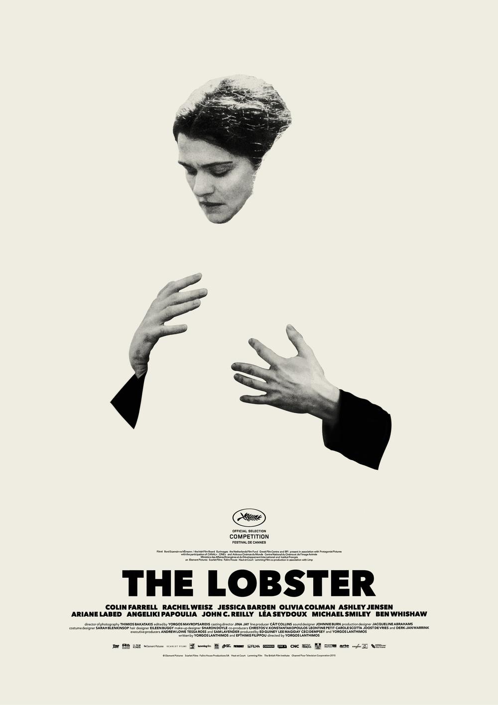 The Lobster 2015 poster Rachel Weisz