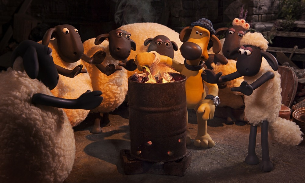 The gang falls on hard times in Aardman Animation's delightful flock-out-of-pasture yarn, Shaun the Sheep Movie.